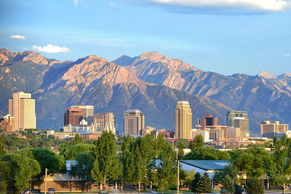 Downtown Salt Lake City