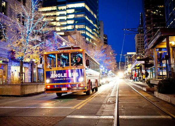 Jingle Bus Salt Lake City Utah