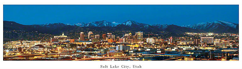 The Salt Lake Tourist and Visitor Centers online edition featuring – Salt Lake City Tourist Map